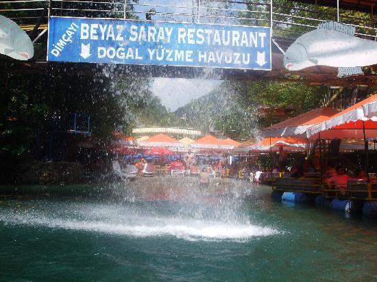 Gunes Suntime Hotel: dim cayi river resturant