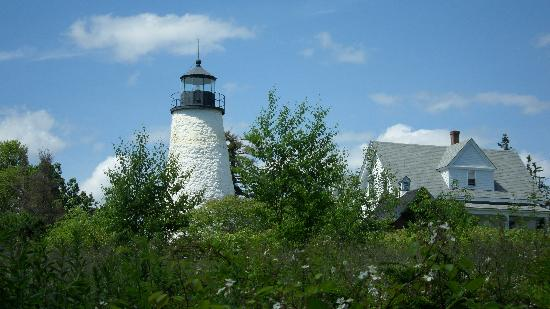 Pentagoet Inn: We visited this lighthouse and took a nice hike down to the rocky shore.