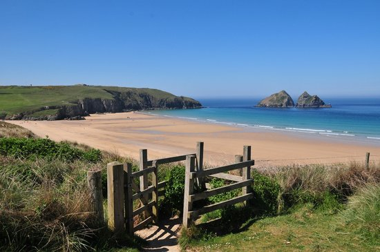 Holywell, UK: The beach is right on your doorstep...