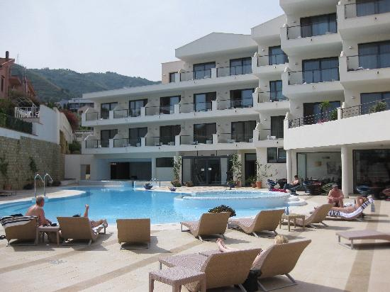 Pool Area Picture Of Cefalu Sea Palace Cefalu Tripadvisor