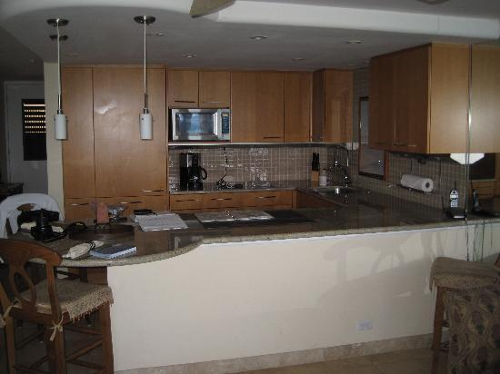 Kaleialoha Condominiums: Kitchen in 208
