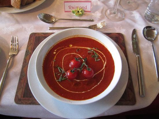 Brooklynn Guest House: Dinner : Home-made tomato cream soup