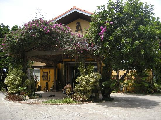 Amarela Resort: the resort's facade
