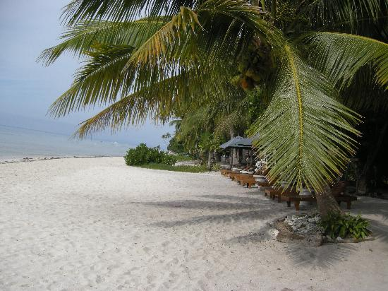 Amarela Resort: powdery white sand