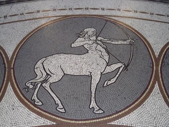 Museo Nacional de Arqueología de Irlanda: Star sign mosaic