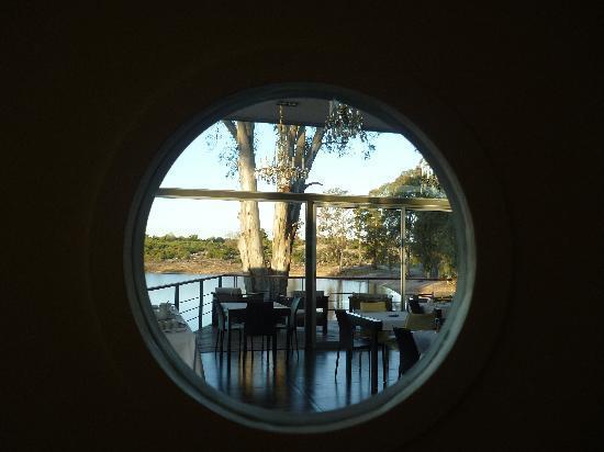 Nueva Palmira, Uruguay: Espiando desde la cocina