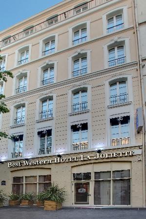 Best Western La Joliette : Facade de l'hôtel