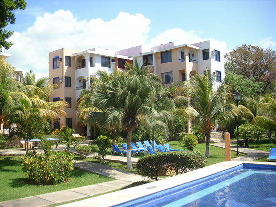 Real Playa del Carmen : Resort Grounds
