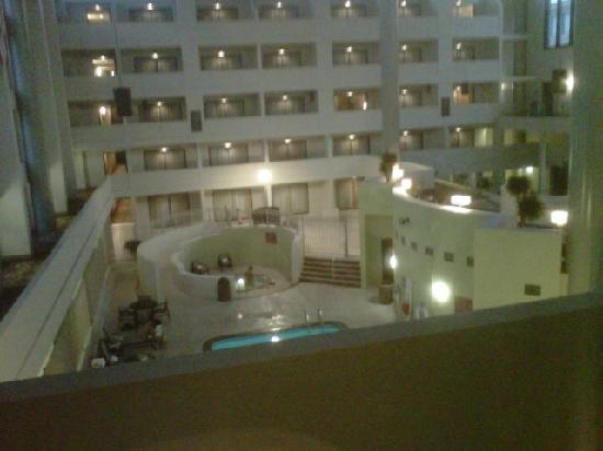 Crowne Plaza Indianapolis Airport: View from Balcony