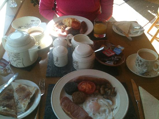 SheenView B&B : Amanda's Full Irish Breakfast!
