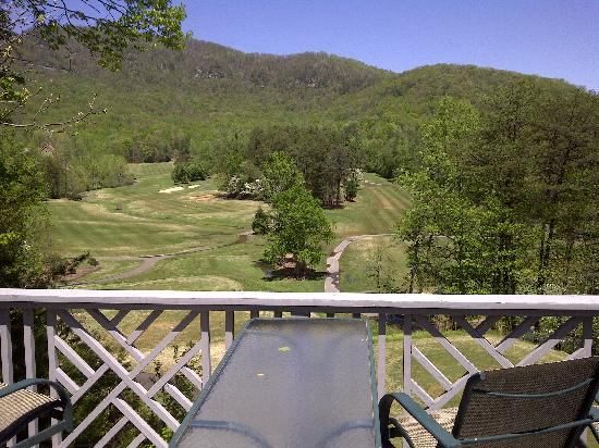 Rumbling Bald Resort on Lake Lure: View from our deck