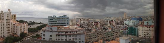Hotel Saint John's: 11th floor view over Havana