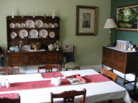 Firwood Country Bed and Breakfast: dining room