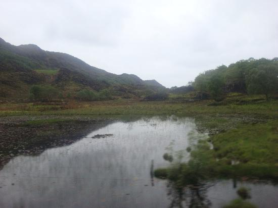 Natural Retreats West Highlands: View from Harry Potter train