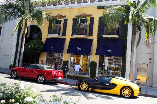 Hollywood Hills Sunset Rodeo Drive - Picture ...