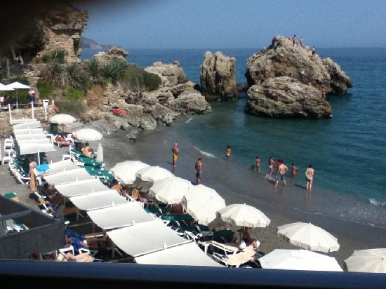 Hotel Balcon de Europa: view from balcony