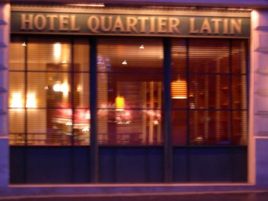Hotel Quartier Latin: hotel front