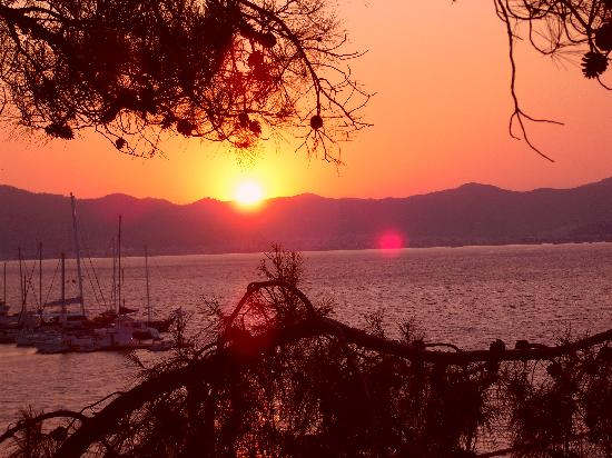 Sensimar Marmaris Imperial: Sunset from our room