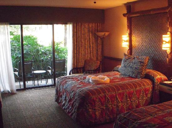 Disney's Polynesian Village Resort: Room at the Poly