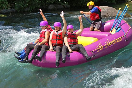 All Adventures Rafting Day Trips: White Salmon River