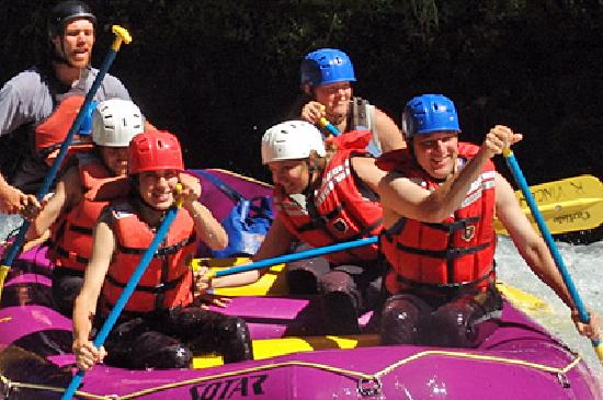 All Adventures Rafting Day Trips: Another group