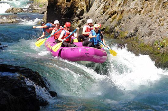 All Adventures Rafting Day Trips: Some other boat from All Adventures Rafting