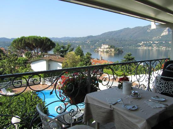 Hotel La Bussola: colazione con vista