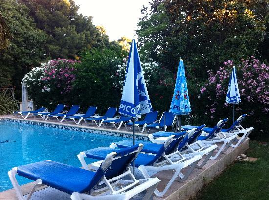 Le Petit Nice: The pool