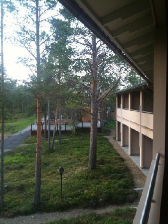 Tradition Hotel Kultahovi Inari: dal balcone della camera