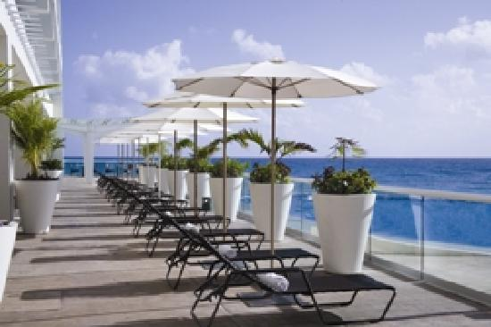 Sun Palace : Terrace