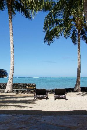 Coconuts Beach Club: view from our fale