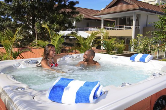 Le Lagon Hotel: Jacuzzi / Spa Pool