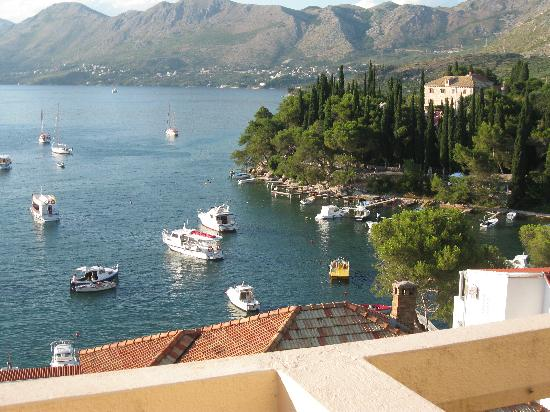 Hotel Cavtat : View of bay from room