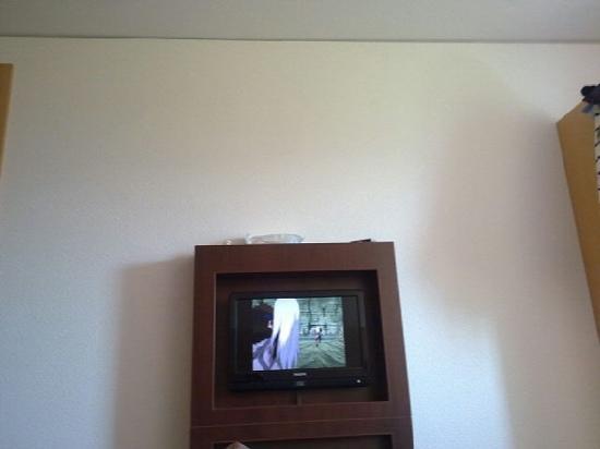 ibis Bulle La Gruyere : tv is small