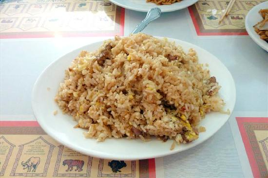 Dragon Palace: Beef Fried Rice