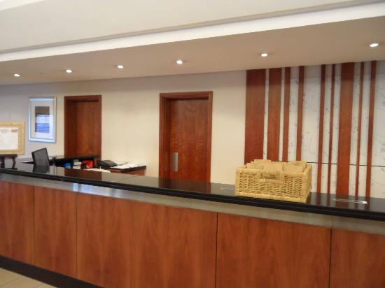 City Lodge Hotel Bloemfontein: Reception desk