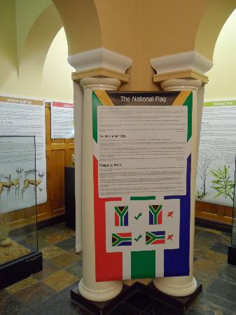 The National Museum : The SA Flag - informative!