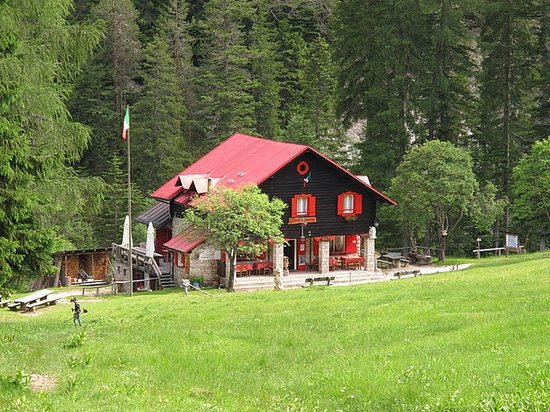 Domegge di Cadore, Italia: The hut