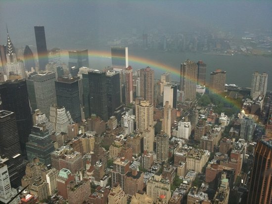 Grand Tour of New York: After the storm from 102nd floor of Empire State building