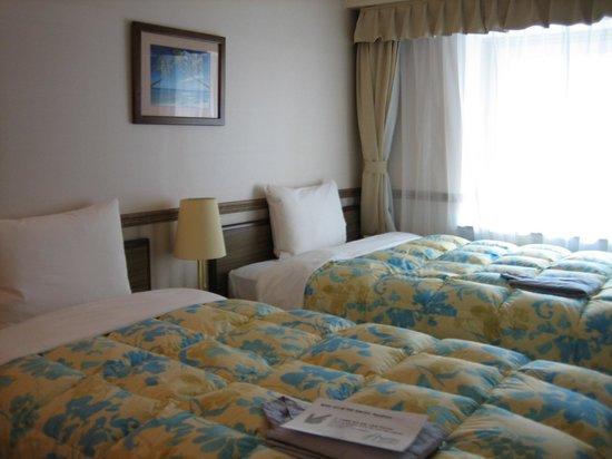 Toyoko Inn: ベットルーム、他の東横インと同じ