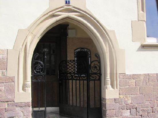 Pauluskirche: entrance