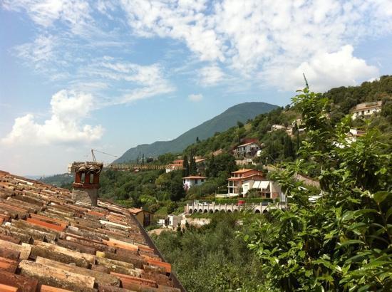 Casa del Tempo Ritrovato: our view from the terrace
