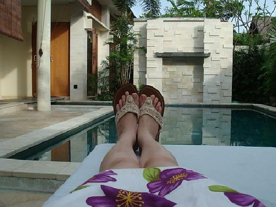 The Residence Seminyak: Chilling out