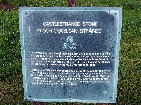 Castlestrange Scribed Stone: Site Info