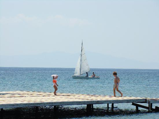 Aytas Hotel: From the jetty