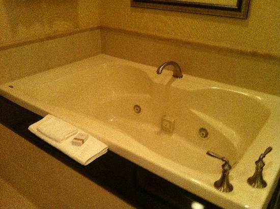 Signature at MGM Grand: The bath tub