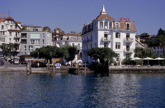 Seminar-Hotel Rigi am See : Frontansicht