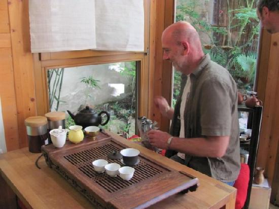 Teehaus Weber: 'verkostung' tea tasting