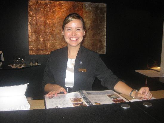 PortoBay Rio Internacional Hotel: Lucinda, at the reception
