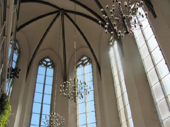 Wolfgangchor: vaulted ceiling